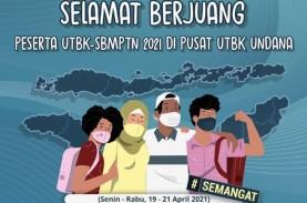 Jadwal Berubah Karena Bencana, UTBK-SBMPTN 2021 di…