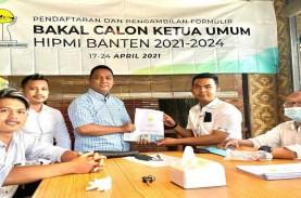 Ambil Formulir Caketum Hipmi Banten, Ini Gagasan Rifky…