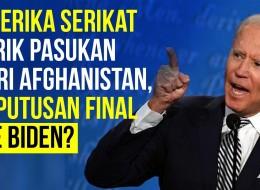 Rencana Joe Biden Soal Penarikan Pasukan dari Afghanistan, Final?