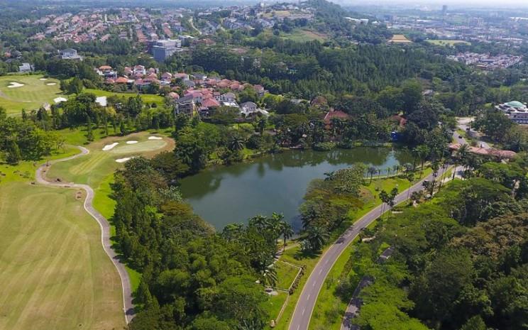 Pemandangan Danau Teratau di kawasan Sentul City, Kabupaten Bogor. - sentulcity.co.id