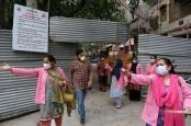 Kasus Covid-19 Catat Rekor, India Berlakukan Jam Malam