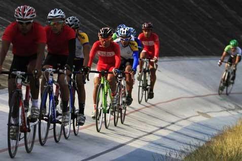 Ilustrasi olahraga bersepeda  -  Istimewa
