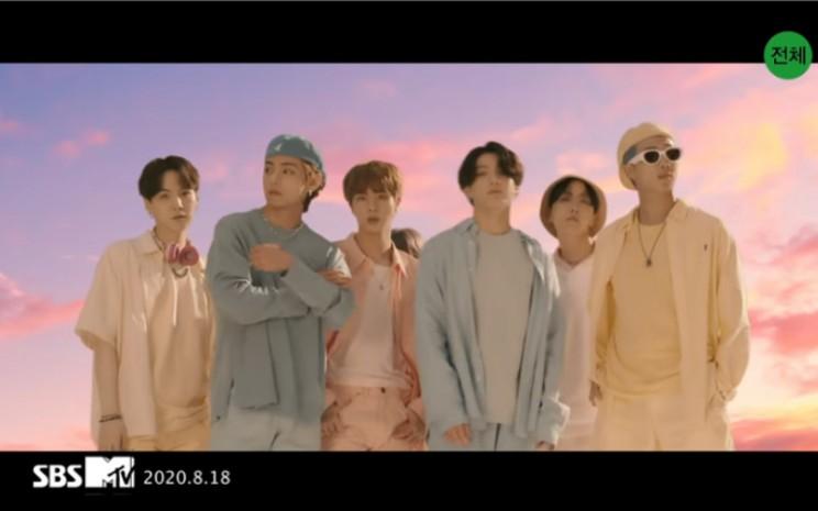 Musik video BTS yang berjudul Dynamite rilis pada 21 Agustus 2020 dan telah mendapatkan 101,1 juta tontonan dalam kurun waktu 24 jam setelah perilisannya.  - Youtube