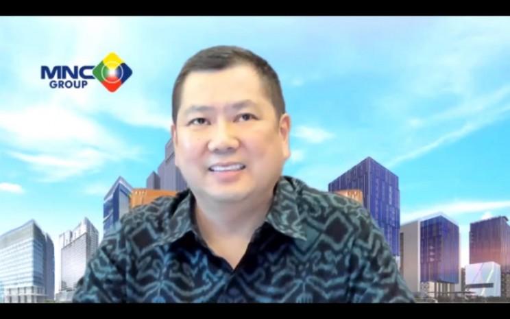 Hary Tanoesoedibjo, Executive Chairman MNC Group.  - Bisnis.com/Janlika