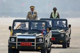 Kelompok Sipil Tolak Kehadiran Junta Militer Myanmar…