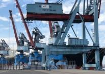 ilustrasi - Suasana di Pelabuhan Panjang. /Bisnis-Aprianus Doni Tolok
