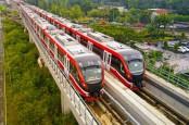Konstruksi LRT Jabodebek Fase Pertama Rampung Kuartal III/2021