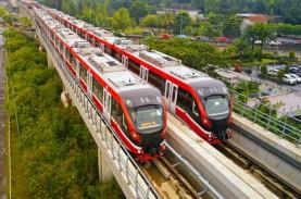 Konstruksi LRT Jabodebek Fase Pertama Rampung Kuartal…