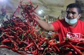 Jelang Lebaran Permintaan Cabai Merah di Pekanbaru…