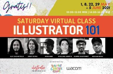 Datascrip dan Komunitas Ilustrator Indonesia Gelar Pelatihan Gratis