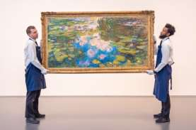 Sotheby's Lelang Lukisan Monet, Harganya Ditaksir…