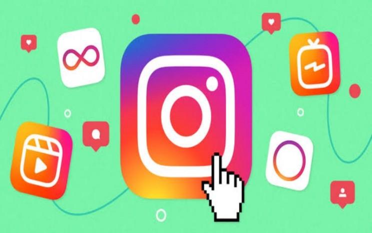 """Ilustrasi instagram. Filter permintaan pesan dapat diaktifkan atau dinonaktifkan di bagian baru aplikasi yang disebut """"kata-kata tersembunyi"""".  - istimewa"""