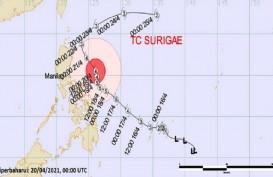 Typhoon Surigae di Level Sangat Kuat, Inilah Dampaknya untuk Cuaca Indonesia