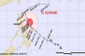 Typhoon Surigae di Level Sangat Kuat, Inilah Dampaknya…
