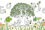 Google Doodle Hari Ini (22/4) Peringati Earth Day 2021