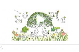 Google Doogle Rayakan Earth Day, Ini Sejarah Peringatan…