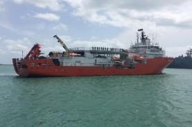 Kapal Pencari KRI Nanggala 402 dari Singapura dan…