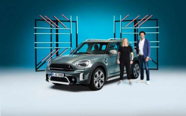 MINI Cooper SE Countryman ALL4 (combined fuel consumption: 2.0 - 1.7 l/100 km; combined power consumption: 14.0 - 13.1 kWh/100 km; combined CO2 emissions: 45 - 40 g/km)  - BMW