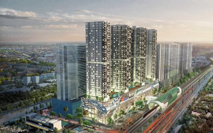 LRT City ingin memberikan solusi berdasarkan atas lima dasar connecting life, yaitu sosial, karir, passion, kesehatan, dan lingkungan.  - LRT