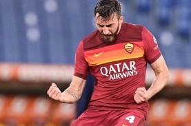 Roma vs Atalanta 1–1, Serigala Makin Jauh dari Tiket…