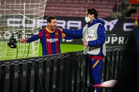 Lionel Messi Cetak 2 Gol, Barcelona Balik Gusur Sevilla…