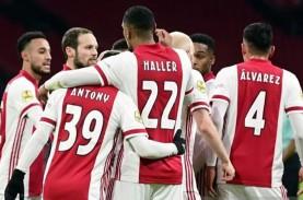 Seri vs Utrecht, Ajax Amsterdam di Ambang Juara Liga…