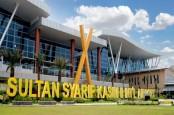 Kenaikan Penumpang Belum Terlihat di Bandara SSK II Pekanbaru