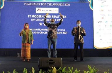 Modernland Realty Raih Penghargaan Top CSR Awards 2021