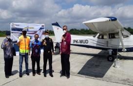 Bea Cukai Pekanbaru Serahkan Aset Pesawat Cessna ke Poltekbang Surabaya