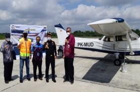 Bea Cukai Pekanbaru Serahkan Aset Pesawat Cessna ke…