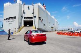 Kuartal I/2021, Ekspor Toyota Masih Kontraksi