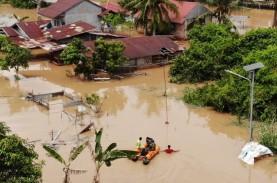 Banjir Pekanbaru 2021, Gubernur Riau: Dapur Umum Sudah…
