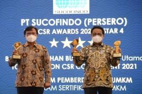 Pembinaan UMKM Sucofindo Raih Penghargaan pada Ajang…