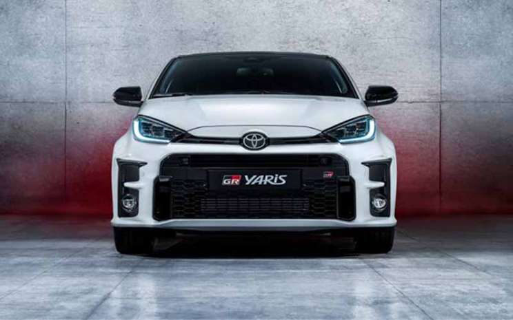 Toyota GR Yaris.  - Toyota