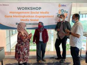 KPPU Gandeng BILEC Gelar Workshop Management Social Media