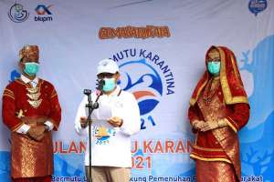 SKIPM Padang Bagikan 1.000 Paket Ikan Bermutu