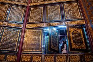 Wisata Religi Al Quran Rakasasa di Palembang Ramai Dikunjungi Saat Bulan Ramadan