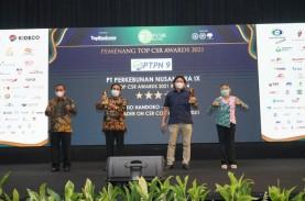 PTPN IX Raih 2 Penghargaan dalam Ajang Top CSR Award…