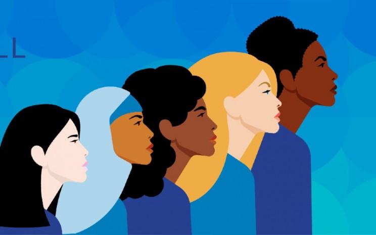 Perempuan kerap memiliki multiperan.  - un.org