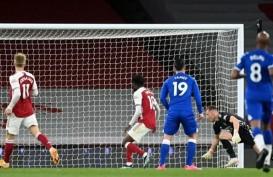 Hasil Liga Inggris, Blunder Kiper Arsenal Menangkan Everton