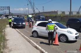 Larangan Mudik, 320 Kendaraan Dipaksa Putar Balik…