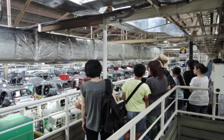 Pabrik Mobil Mitsubishi Motors.  - Mitsubishi Motors.