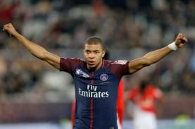 Kylian Mbappe Makin Tajam, Top Skor Liga Prancis 25…