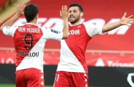 Monaco Gasak Angers, Persaingan Menuju Juara Liga Prancis Memanas