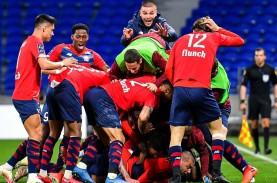 Hantam Lyon, Lille Kembali Pimpin Klasemen Liga Prancis,…