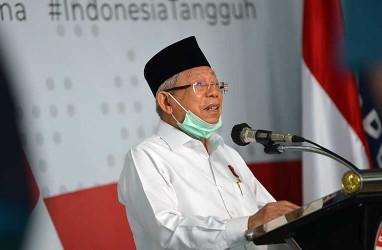 Wapres Ma'ruf Amin Beberkan Tantangan Majukan Ekonomi Syariah di Indonesia