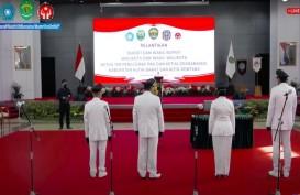 Gubernur Kaltim Lantik Bupati Kutai Barat Dan Wali Kota Bontang