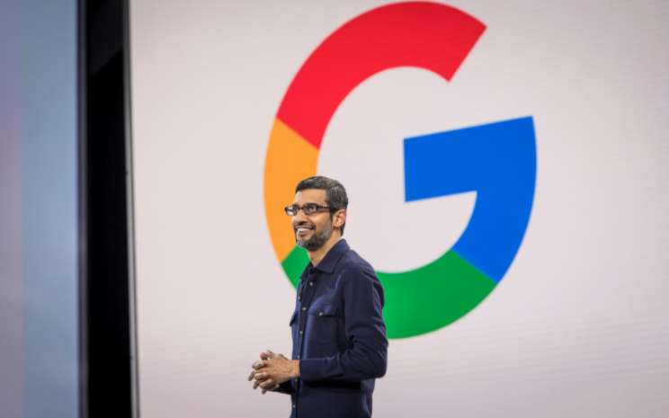 CEO Alphabet Sundar Pichai.  - Bloomberg