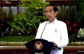 Jokowi Naikkan Pangkat dan Beri Bintang Jasa untuk Awak KRI Nanggala