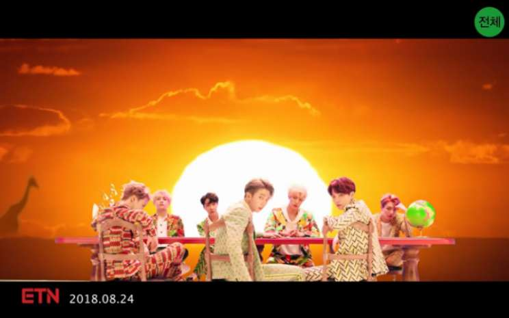 Idol merupakan trek utama dalam album repackage bertajuk Love Yourself: Answer.  - Youtube